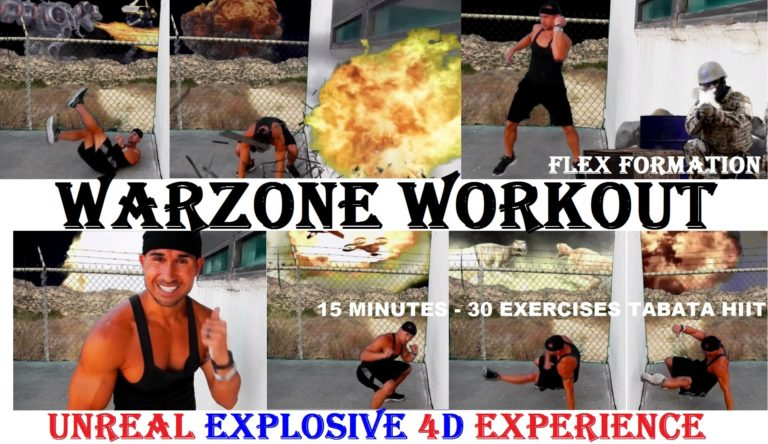 Intense 6 Minute Battle Rope And Med Slam Ball Workout