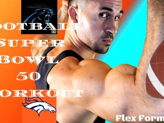Flex Formation Football Super Bowl 50 Tabata Workout