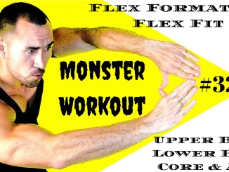 Flex FormationFlex Fit Workout 32 Upper Body , Lower Body , Core And Abs