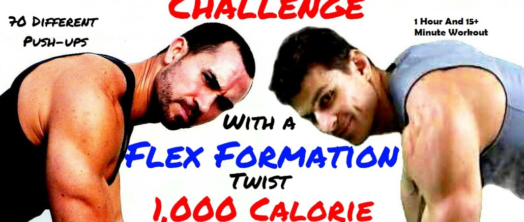 Relentless Jake's 1,000 Push-ups Challenge 1000 Calories Workout