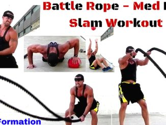 Battle Rope And Med Ball Slam Workout (1)