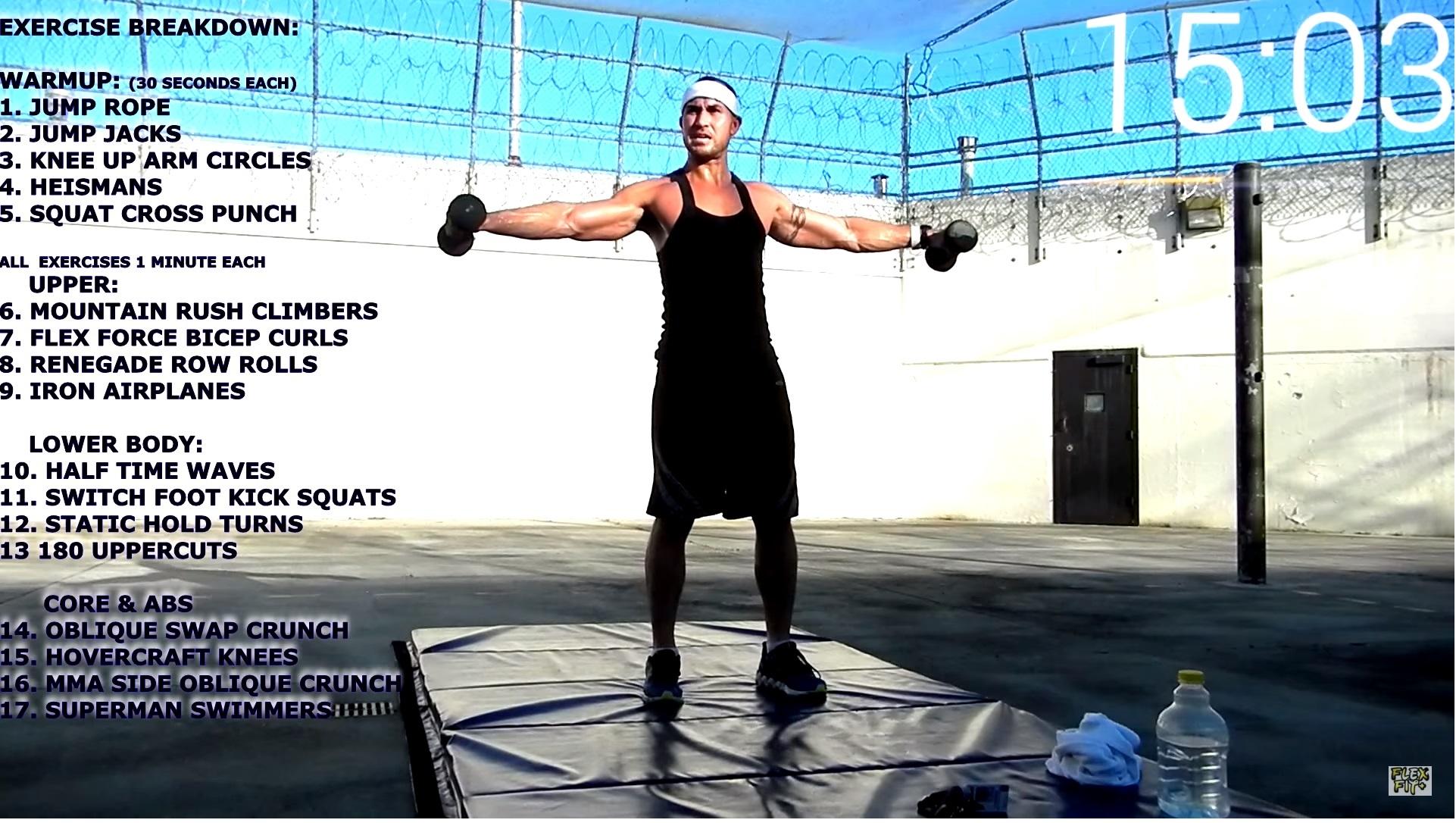Squat Flex Workout Program | EOUA Blog